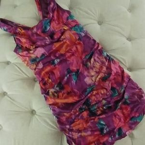 Express Silk floral dress size 10